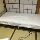 ベッドマットレス付き差し上げます