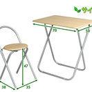 折り畳みテーブルチェア