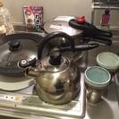 フライパン、圧力鍋、ビアカップ等々
