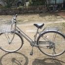 【3/13購入直後 超美品】 自転車 27インチ