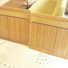 レトロな木製引戸