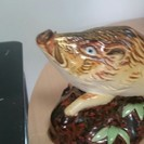 美品 アンティーク 干支 猪 置物 在銘 鳳子 古美術 骨董