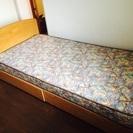 大正堂シングルベッド【美品】