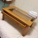 ショーケース型ローテーブル
