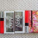 TDK カセットテープ60×2本 DENON ×1本