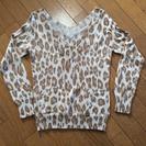 涼しい日にぴったり‼️【 OZOCの薄手セーター 】