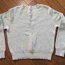 【 GUの春物ショート丈セーター 】