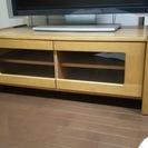 テレビ台/ナチュラル木製