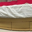 スノコ ベッドフレーム シングル 収納引出付き