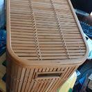籐製品ランドリーボックス