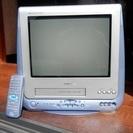 再出品! テレビデオ 15インチ02年シャープ製 VT-15FS3-A