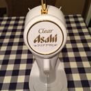 クリアアサヒのビールサーバ