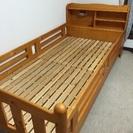 すのこ式シングルベッド