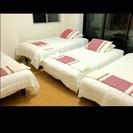 シングルベッド4つ airbnb最適