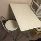 折り畳み可能 テーブル イス