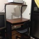 机とイス(多摩市周辺無料で配達致します)