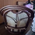 籐の座椅子×2個 予約決まりましたー♪
