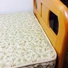 (商談中)シングルベッド(マット付き)さしあげます。