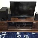 木のテレビボード