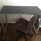 フランフラン 机と椅子 セットで