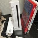 Wii 本体 + wii fit plus, wii sports...