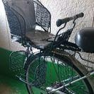 自転車後付け子ども用席