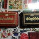 昭和レトロ◆古いシャチハタのスタンプパッド