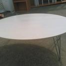 円型 丸いテーブル 差し上げます。※折り畳み可能!