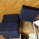 クッション座布団RIRAKU5個セットで差し上げます。