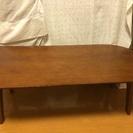 折りたたみ リーフ型ローテーブル