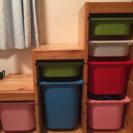 IKEA★イケア★トロファスト★階段タイプ★おもちゃ収納