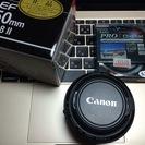 美品◆Canon EF50mm f/1.8 Ⅱ&Kenko PRO...