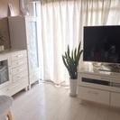 白い家具(AVラック、チェスト2種類