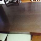 商談中 ニトリ ダイニングテーブル1000円 椅子四脚は無料