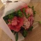 フラワーアレンジメントと、お子様への花育レッスン、花育士の資格も取...