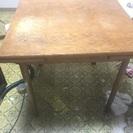 【急募 来週の木曜まで】木のテーブル譲ります