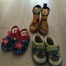 14センチ 靴セット