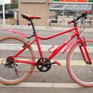 激レア コカコーラ リジッドMTB 自転車 26インチ 6速