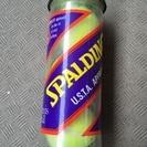 SPALDING硬式テニスボール3個缶入り