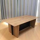 ニトリ社製 天然木ローテーブル センターテーブル ライトブラウン