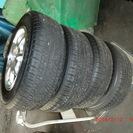 アルミホイール+タイヤ4本セット