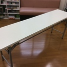 会議用折り畳みテーブル高 3つ