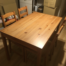 ダイニングテーブル×椅子セット(4名用)