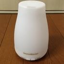アロマディフューザー 超音波式 加湿器 多色変換LEDライト付き