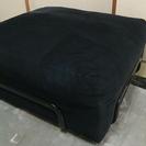 イケア[IKEA] ソファー(オットマン風)黒