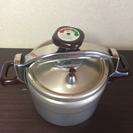 圧力鍋 料理時間短縮できます。
