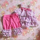 海外子供服 セットアップ