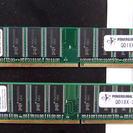 DDR-400 PC3200 メモリー pqi製