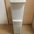 2段式ゴミ箱