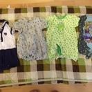 新生児(50-60サイズ) 春夏用肌着と洋服セット